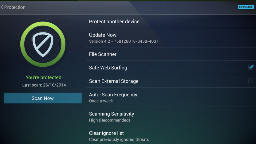 AVG AntiVirus Security Free for Android