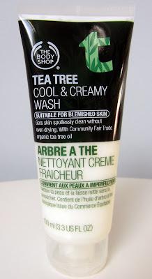 nettoyant crème fraîcheur arbre à thé The Body Shop