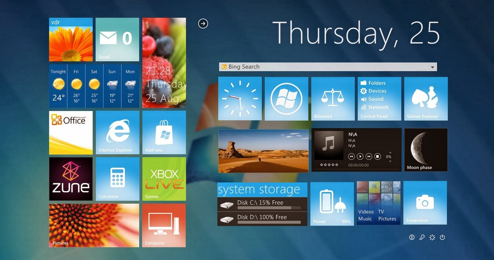 how to download windows 8 themes