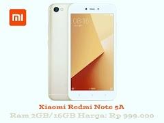 Xiaomi Redmi Note 5A Smartphone Murah Dengan Layar Besar