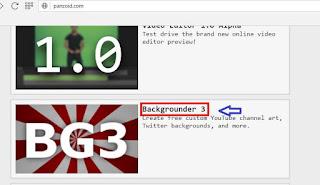Cara membuat thumbnail video youtube di Panzoid