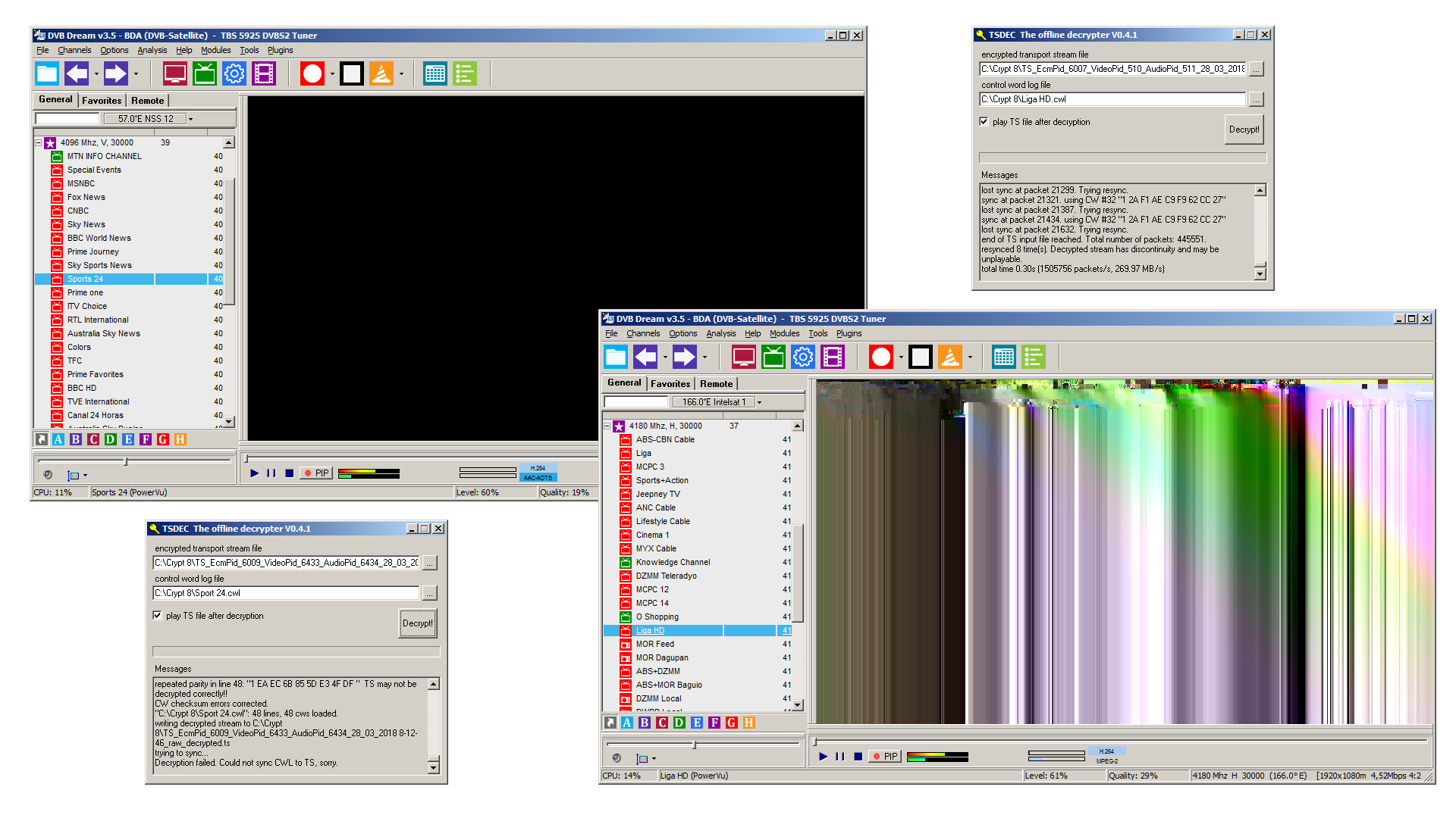 Kenapa Channel Liga HD Intelsat 19 Video CD Rusak