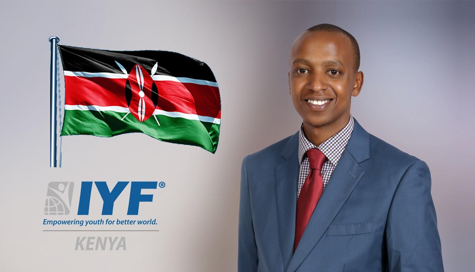 Mwaura Kimani, IYF Representative in Kenya