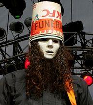 Buckethead Cubeta Cabeza Funeral