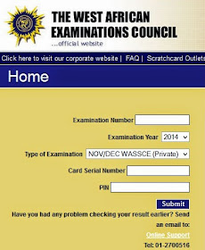 CHECK WAEC RESULT HERE