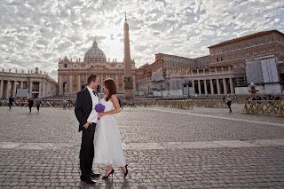 Slub w Rzymie