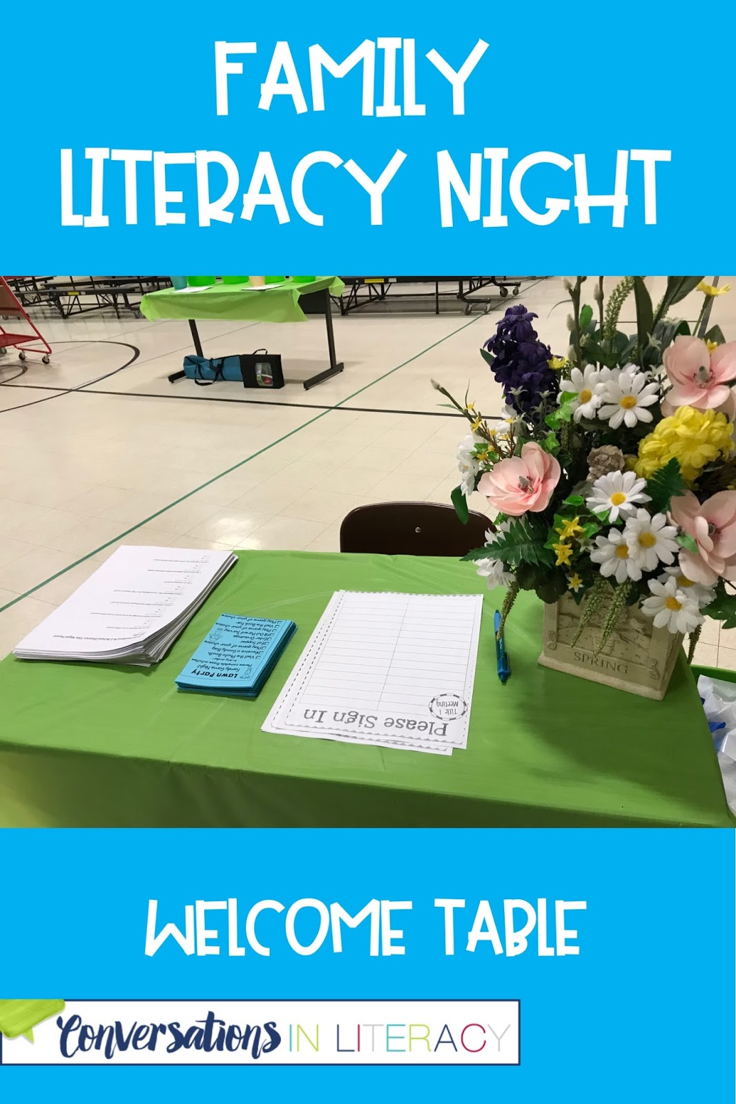 family literacy night activities it's a lawn party!