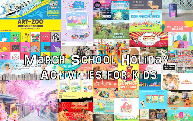 50 March School Holiday activities for kids 2018 (Singapore) | The
