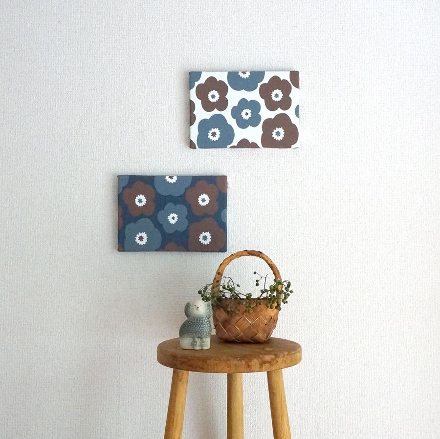 秋冬のお部屋に似合う「popy ファブリックパネル」6つの新色をお店に並べました!