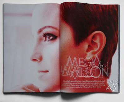 Emma Watson Vogue UK Wielka Brytania December 2010 Grudzień