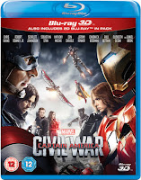 Captain America: Civil War 3D (2016) Poster