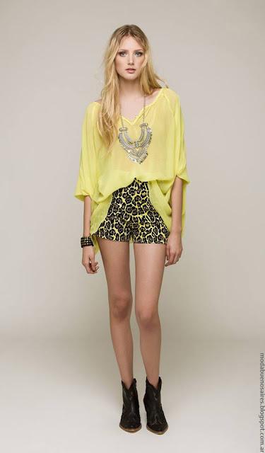 Moda 2017: Moda primavera verano 2017 vestidos de fiesta, shorts, blusas, túnicas primavera verano 2017.