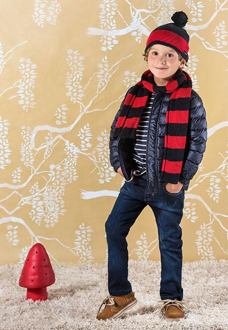 Camperas invierno 2017 moda niños invierno 2017.