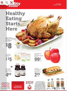 Quality Foods Weekly Flyer January 8 - 14, 2018