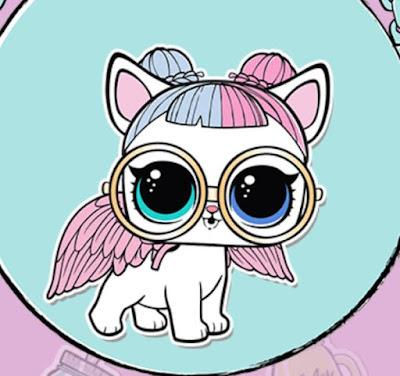 Собака с разноцветными глазами LOL Surprise P-007