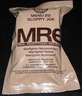 MRE Menu 22, Sloppy Joe overwrap