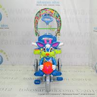 Sepeda Roda Tiga Royal RY8582C Baby Ball Dobel Musik Kanopi