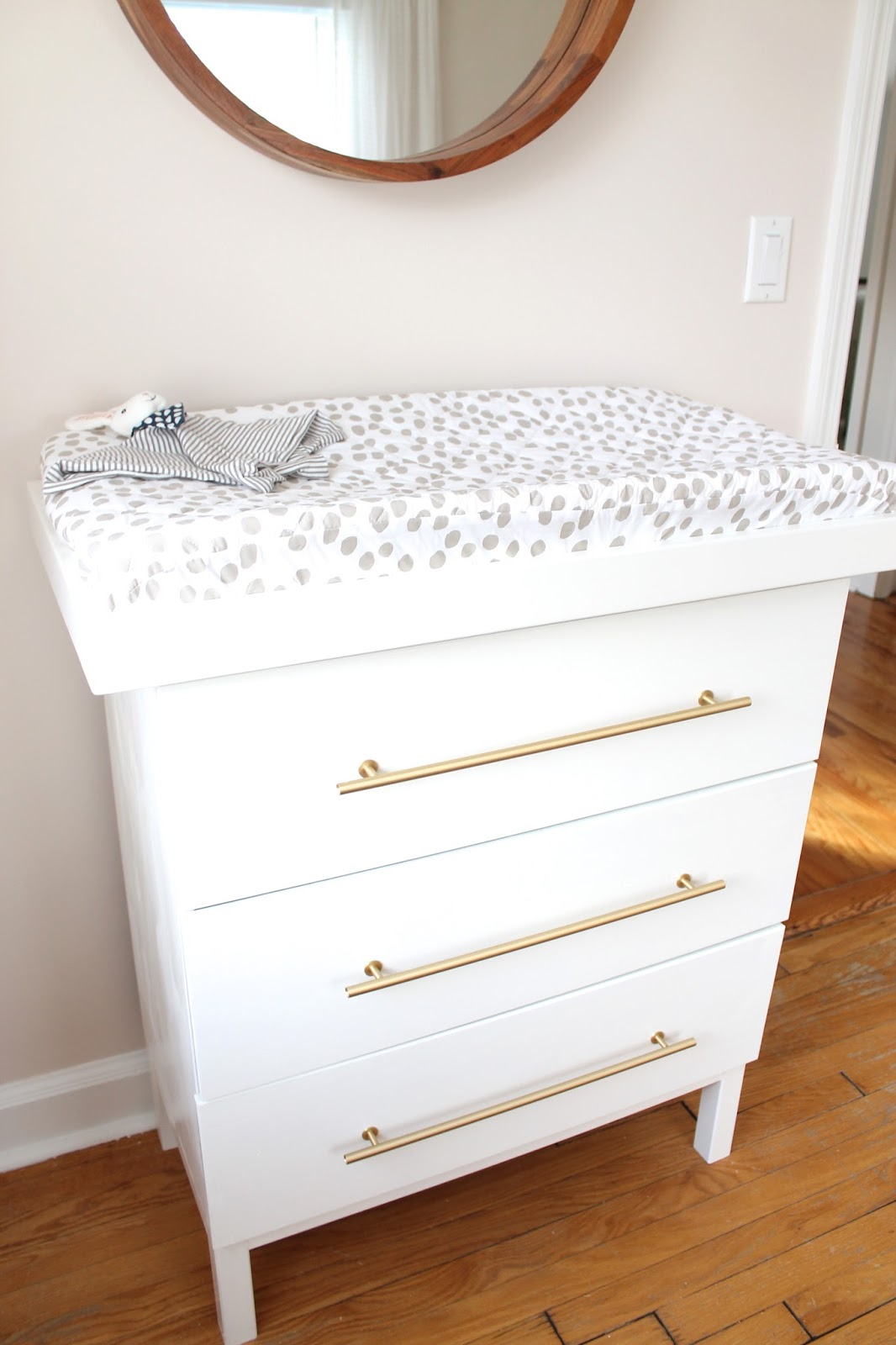 The Picket Fence Projects A Changed Changing Table