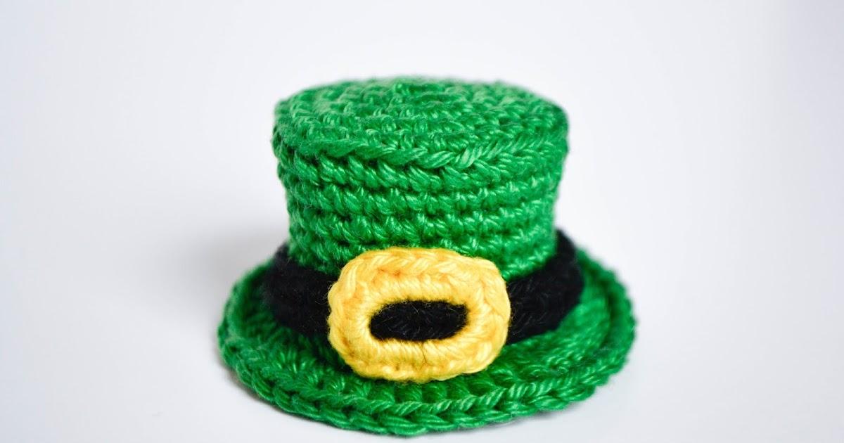 La Cigogne St Patricks Day Top Hat Free Crochet Pattern