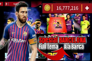 Download DLS 19 Mod Barcelona Full Kits & Update Transfer Winter 2018/2019