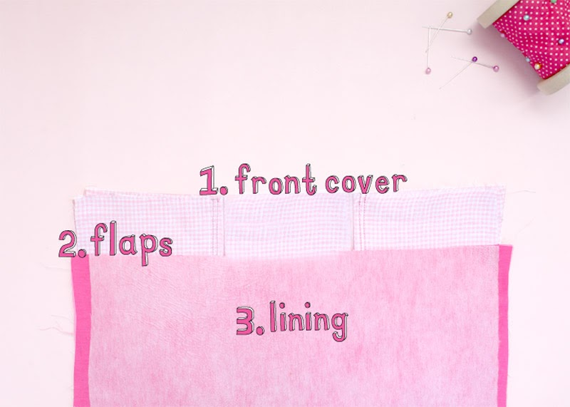 diy fabric journal covers tutorial