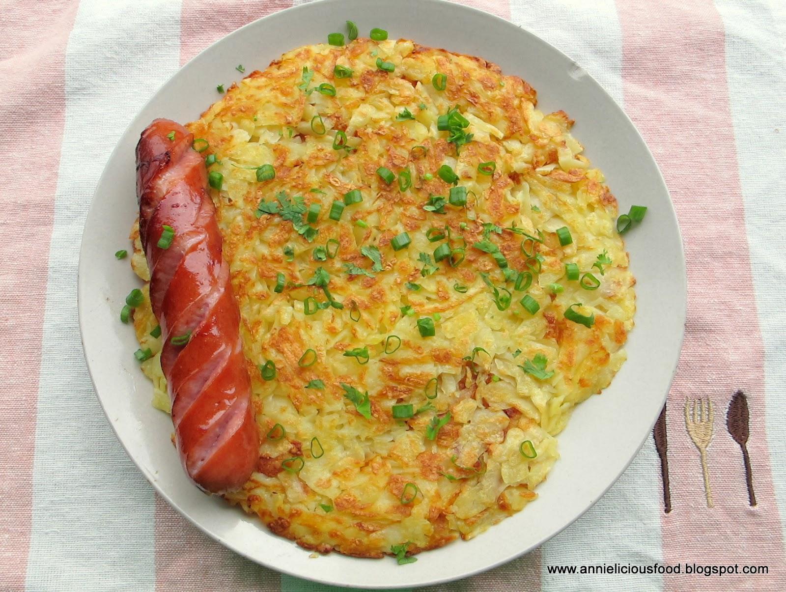 Open Rosti Omelette