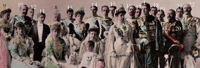 prince Ferdinand de Bavière et de l'infante María Teresa d'Espagne