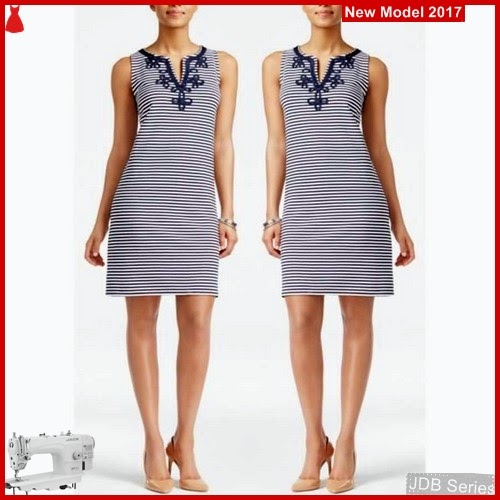 JDB082 FASHION Stripedress Ccb Perempuan BMGS