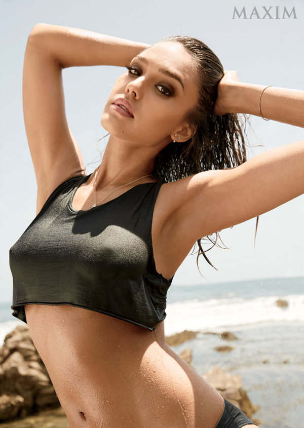 jessica alba maxim september 2014 03 - Jessica Alba Hot Bikini Images-60 Most Sexiest HD Photos of Fantastic Four fame Seduces Us Atmost