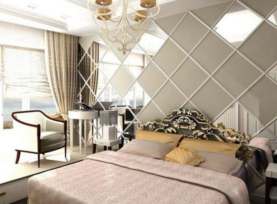 modern wall mirror design for bedroom 1