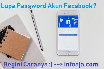 Cara Mengatasi Lupa Password Akun Facebook Sendiri