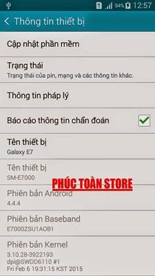 Tiếng Việt Samsung E7000 4.4.4 alt