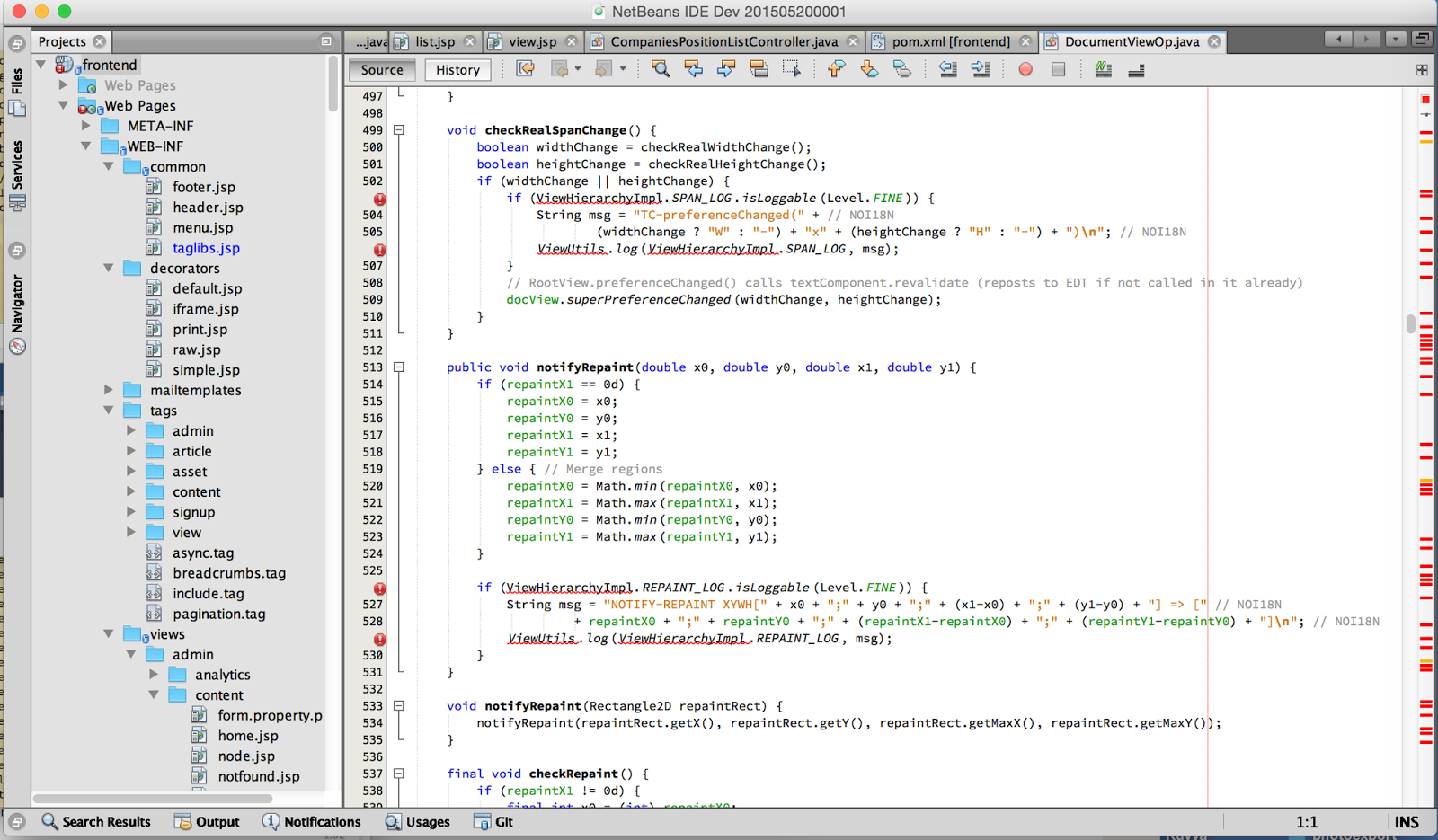 nothome com: Subpixel font rendering with Netbeans on OSX