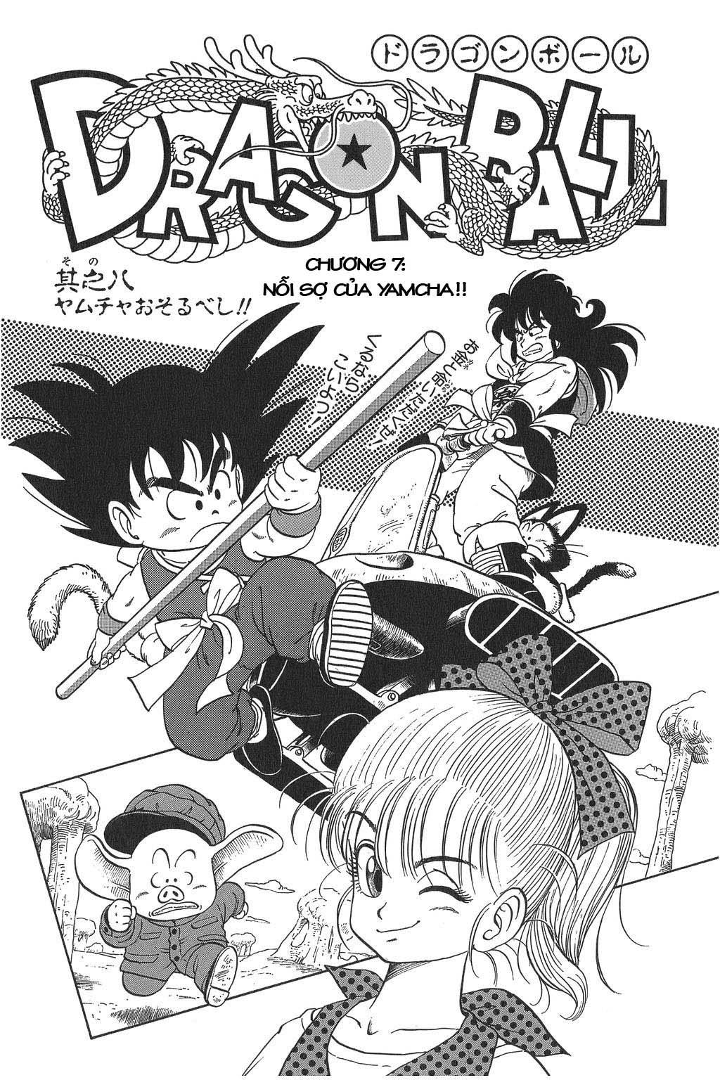 Dragon Ball chap 8 trang 1