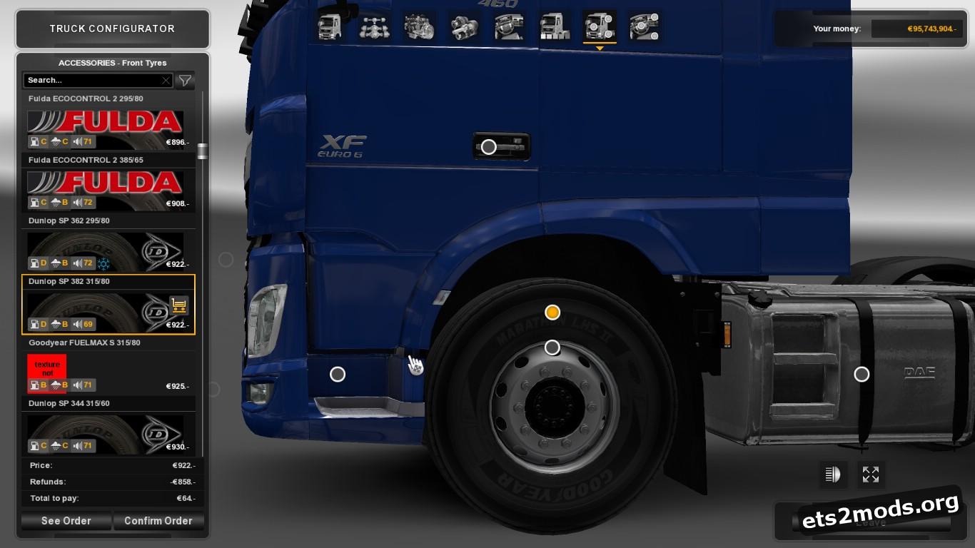 Real Tires Pack V 5.6