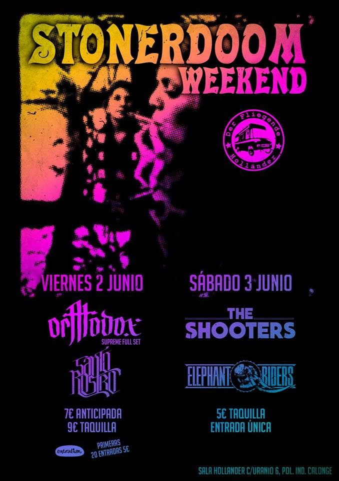 Collector 39 s series diy 2 junio stonerdoom weekend for Sala hollander