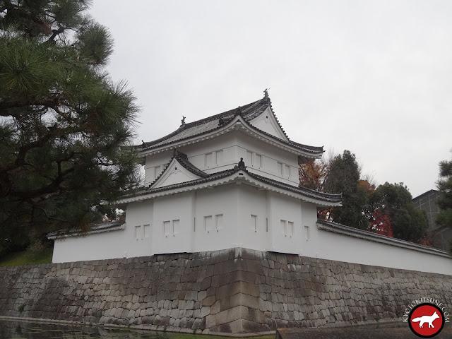 Rempart du château Nijo de Kyoto