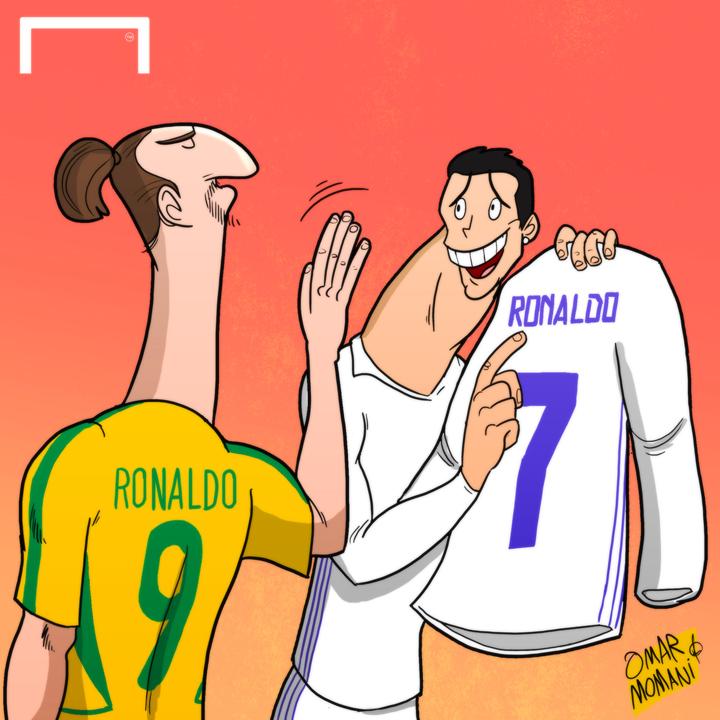 Omar Momani Cartoons Ronaldo