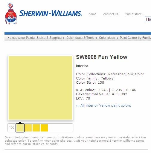 SW6908 Fun Yellow