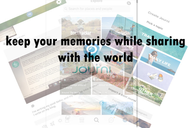 keep your memories while sharing with the world