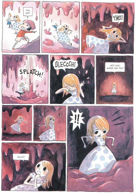 Beautiful Darkness, By Fabien Vehlmann and Kerascoët (Marie Pommepuy and Sébastien Cosset) Translated by Helge Dascher.