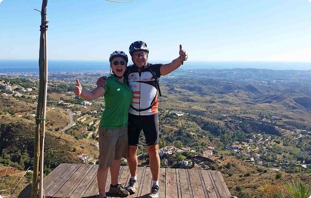 Mit dem eBike durch Andalusien zu fahren, ist einfach grandios!
