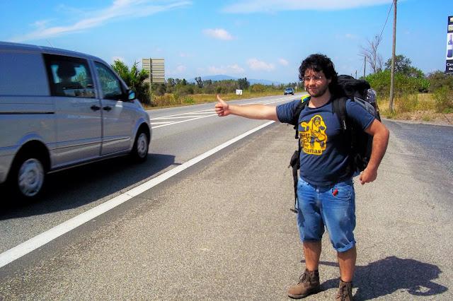 fare l'autostop