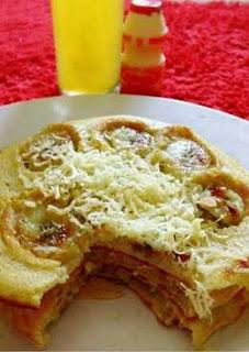 Resep Membuat Pancake Pisang Keju