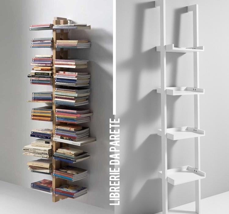 Una colonna di libri