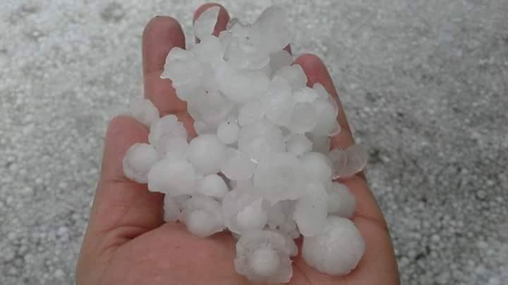Hailstone in Darjeeling 6