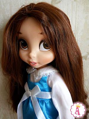 Большая кукла Белль из мультика Красавица и чудовище