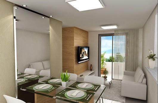 Nossa casa nova pequenas salas decoradas for Decoracion de salas apartamentos pequenos