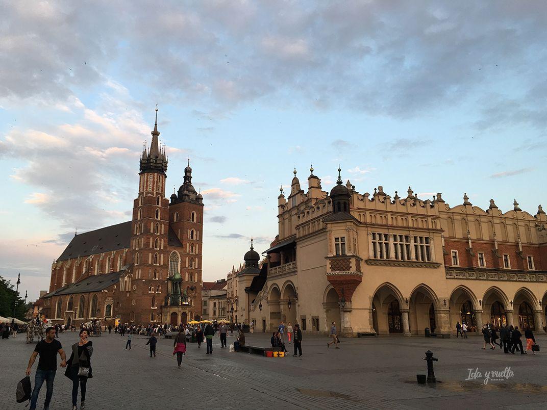 Santa María Cracovia vista