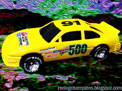 1991 Mello Yello 500 Ponitac Racing Champions 1/64 NASCAR diecast blog Charlotte #91 Winston Cup
